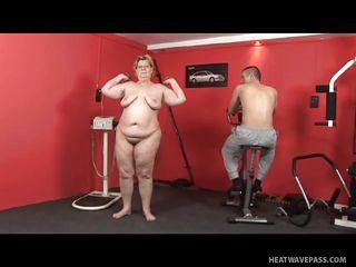 старая толстуха секс